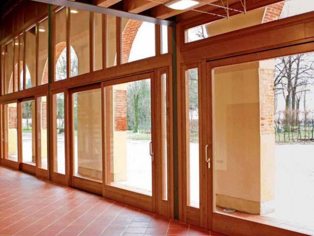 Finestre legno/alluminio Falegnameria Sartena
